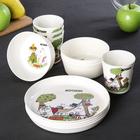 Набор посуды Moomin, на 4 персоны, 12 предметов