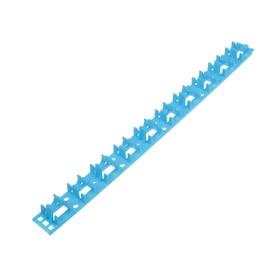 Планка для укладки труб теплого пола, универсальная, для труб 16/20 мм