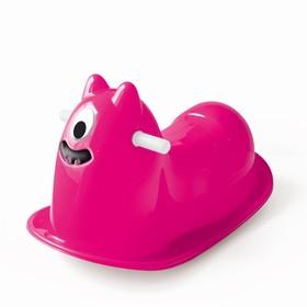Качалка «Монстрик», цвет розовый Ош