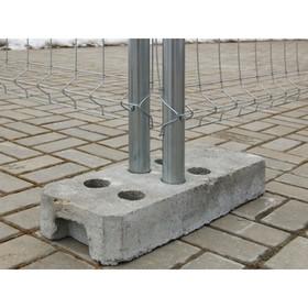 Основание для временных ограждений, бетонное, усиленное Ош