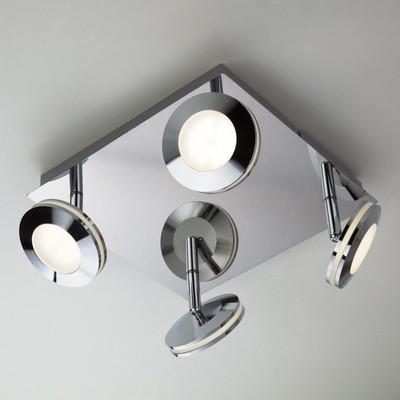 Светильник Rоund 20Вт LED хром