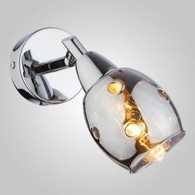 Светильник 'Галактика' 40Вт E14 хром Ош