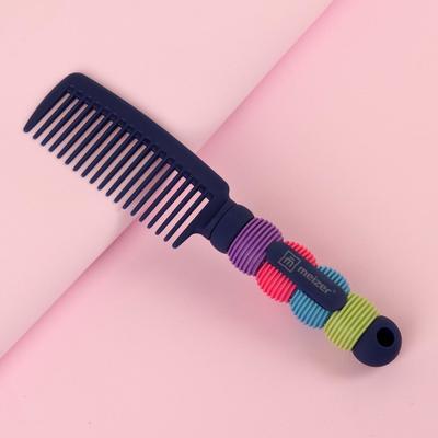 Расчёска, 3,8 × 18 см, разноцветная, Т33 Х-2 Т-BL - Фото 1
