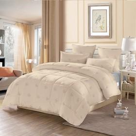 Одеяло стёганое «Верблюжья шерсть», 140х205 см, чехол полиэстер, наполнитель верблюжья шерсть/полиэстер (110 г/м2)