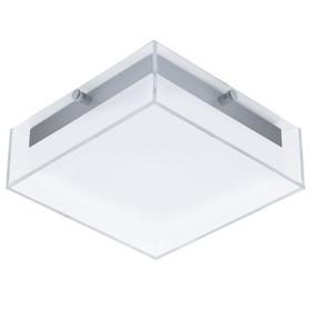 Светильник INFESTO, 8,2Вт, LED, IP44, 3000k, цвет нержавеющая сталь, серебро