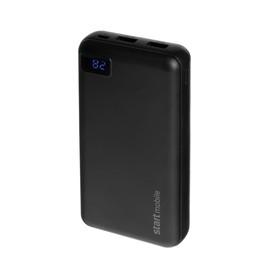 "Внешний аккумулятор ""СТАРТ"" PPB SWAN P20P-B, USB, 20000 мАч, черный"