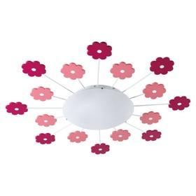 Светильник VIKI 60Вт E27 розовый Ош