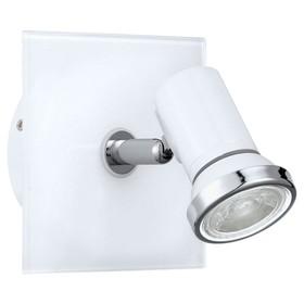Светильник TAMARA 3,3Вт GU10 IP44 белый, хром