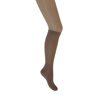 Гольфы детские «Ромбики», 2 пары, цвет телесный, размер 20-22