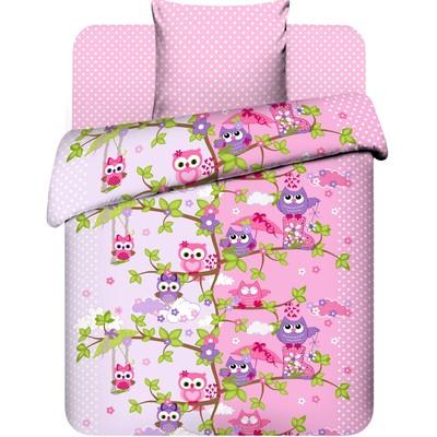 Детское постельное бельё 1,5 сп. «Совята» - Фото 1