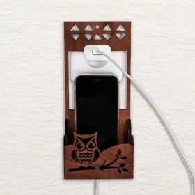 Органайзер для телефона на розетку 'Совушка' Ош