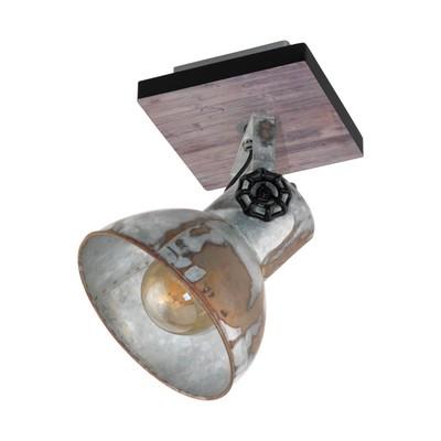 Светильник BARNSTAPLE 40Вт E27 коричневый, черный
