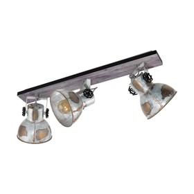 Светильник BARNSTAPLE 3x40Вт E27 коричневый, черный