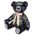Мягкая игрушка «Медведь БернАрт», цвет серебряный металлик, 34 см