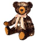 Мягкая игрушка «Медведь БернАрт», цвет золотой металлик, 34 см