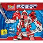 Конструктор «Робот», 103 детали, МИКС