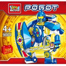 Конструктор «Робот», 100 деталей, МИКС