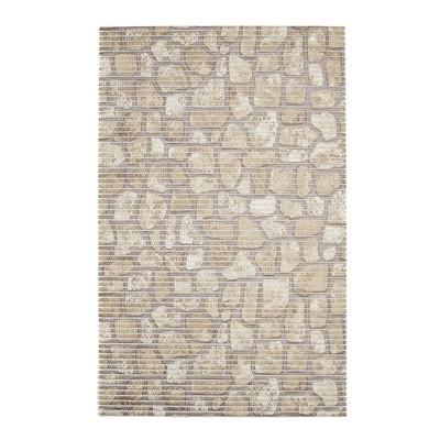 Коврик из вспененного ПВХ Brick, бежевый, 50x80 см - Фото 1