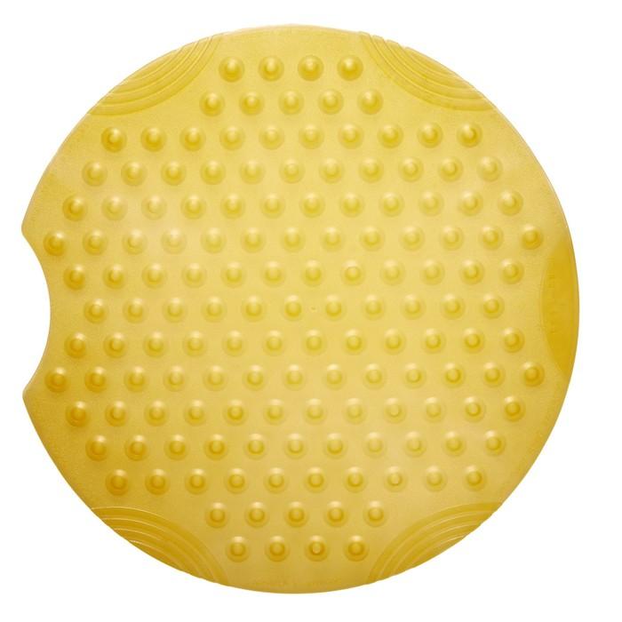 Коврик противоскользящий Tecno Ice желтый, 55 см