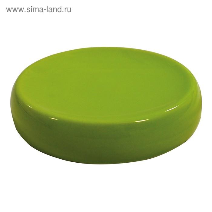Мыльница Shiny, цвет зеленый