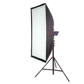 Софтбокс с сотами SBQ-75150 BW для студийных вспышек и галогеновых осветителей Ош