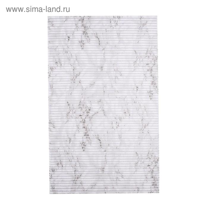 Коврик из вспененного ПВХ Marble цветной, 50x80 см