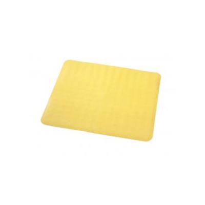 Коврик противоскользящий Basic, желтый, 51x51 см - Фото 1
