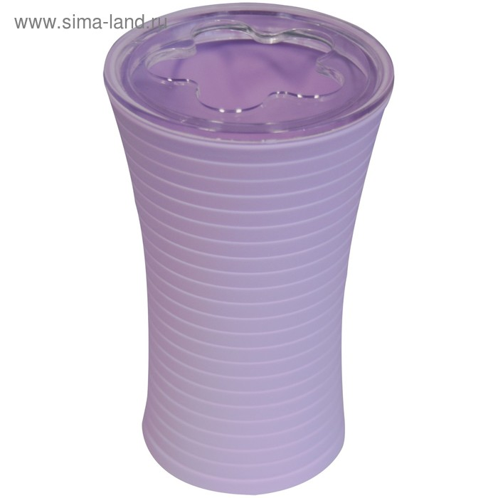 Стаканчик для зубной щетки Tower, фиолетовый