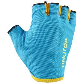 Перчатки спортивные, размер М, цвет голубой Ош