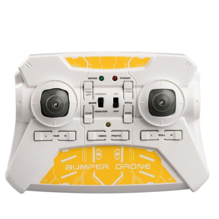 Бампер «Дрон» с камерой HD, на радиоуправлении