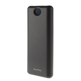 Внешний аккумулятор Qumo PowerAid, 15600 мАч, 2 USB, USB/Type C, черный