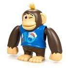 Робот-обезьянка «Чимпи», синяя - Фото 2