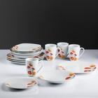 Набор столовой посуды «Цветы», 16 предметов, на 4 персоны