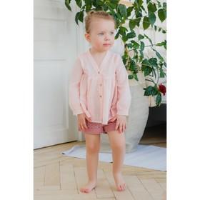 Блузка для девочки MINAKU, рост 92 см, цвет розовый Ош