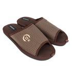 Тапочки мужские Domino арт. D-EM186, цвет коричневый, размер 43/44