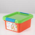 Контейнер для хранения с крышкой Kid's Box, 2 л, 19,5×17×10 см, цвет МИКС