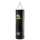 Мешок боксерский EFFORT PRO, мет. кольцо/цепи , 115 см, d 35 см, 60 кг