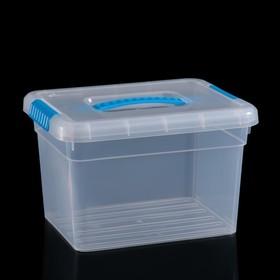 Контейнер для хранения с крышкой Standart, 5 л, 25×20×16 см, цвет МИКС