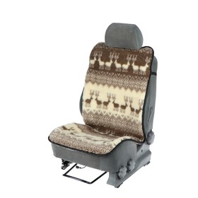 Накидка на сиденье, тип 5, овчина 65%, 120 х 50 см
