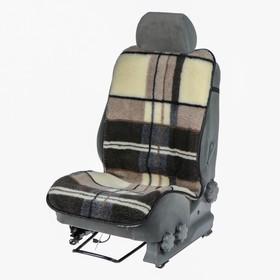 Накидка на сиденье, тип 1, овчина 65%, 120 х 50 см