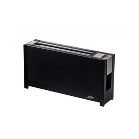 Тостер Ritter VOLCANO5 black, стеклянная передняя панель настройка степени поджаривания, черный   43