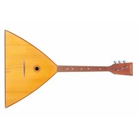 Балалайка БалалайкерЪ 3S-ST Спутник-Т  традиционная, трехструнная, улучшенная отделка