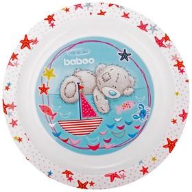 Тарелка BABOO Me to You, от 6 месяцев