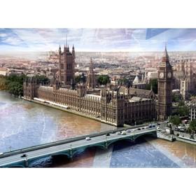 Фотообои Лондон ЛЮКС  2,72х1,94 м (из 8 листов) Ош