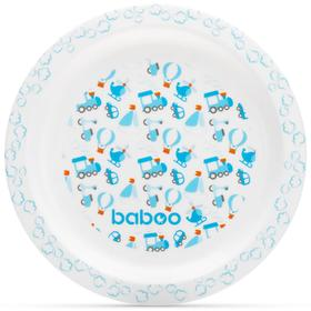 Тарелка BABOO Transport, от 6 месяцев