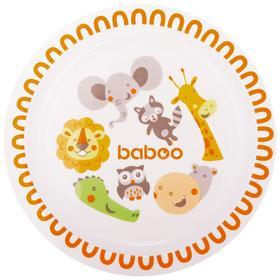 Тарелка BABOO Safari, от 6 месяцев