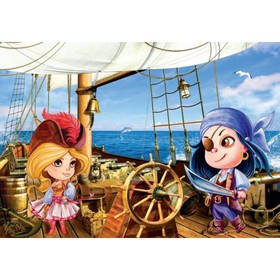 Фотообои Пираты ЛЮКС 1,94х1,36 м (из 4 листа) Ош