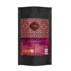 Цветочная соль для ванн Zeitun «Ритуал соблазна» с лепестками белого жасмина и эфирными маслами, 500 г
