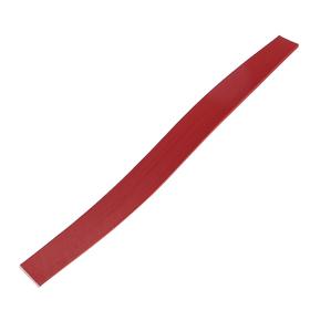 Бумага для квиллинга красная (набор 125 шт) 3 мм х 300 мм, 130 г/м2