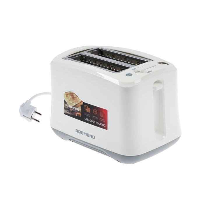 Тостер REDMOND RT-407-E, 800 Вт, 2 тоста, белый